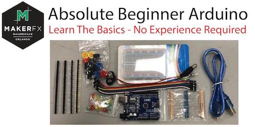 Absolute Beginner Arduino