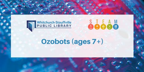 Ozobots (ages 7+) tickets