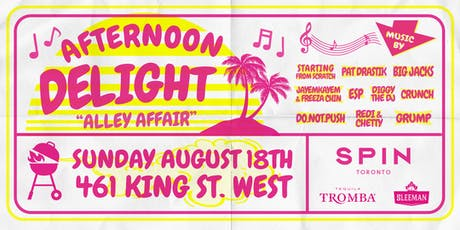 AFTERNOON DELIGHT tickets