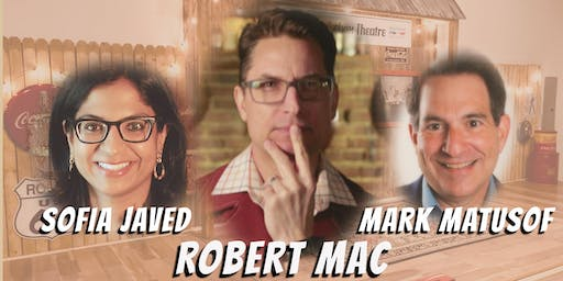 """Comedy Night Featuring """"Robert Mac and Friends"""""""