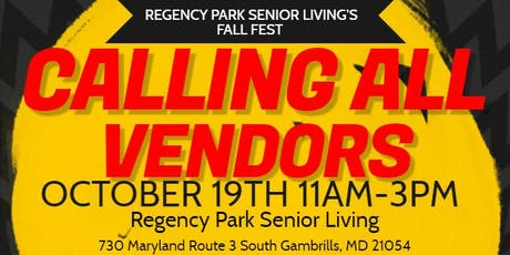 CALLING ALL VENDORS tickets