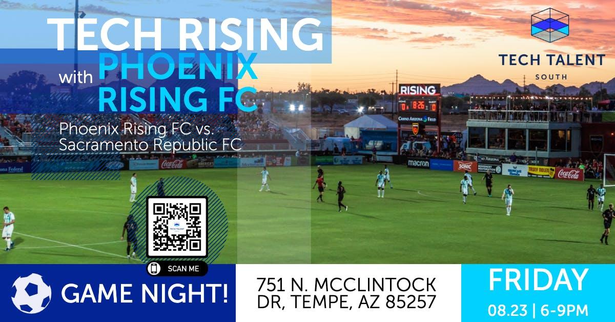 Tech Rising with the Phoenix Rising Football Club (Community Social)