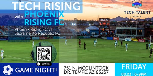 Tech Rising with the Phoenix Rising Football Club (Community Social)