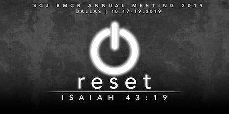 SCJ BMCR Annual Meeting 2019 tickets
