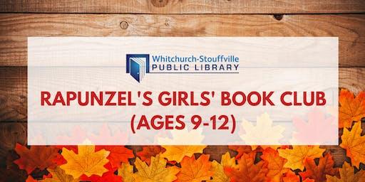 Rapunzel's Girls' Book Club (ages 9-12)