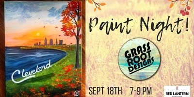 Autumn in Cleveland | Paint Night at Red Lantern!