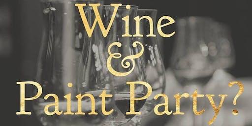 Wine & Paint Night