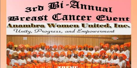 The 3rd Bi-Annual Breast Cancer Event-Anambra Women United tickets