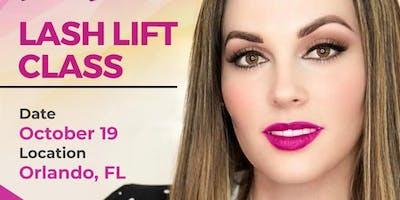 Lash Lift Class - Orlando, FL