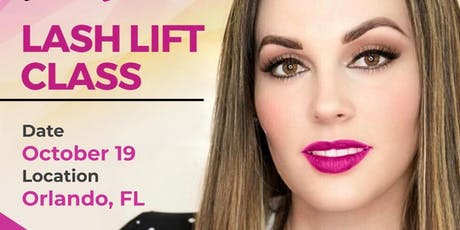Lash Lift Class - Orlando, FL tickets