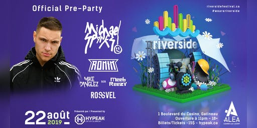 RIVERSIDE FESTIVAL: Official PRE-PARTY