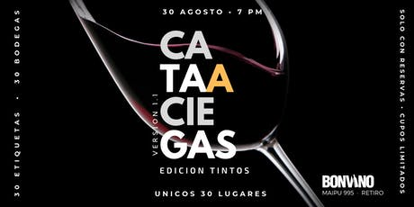 CATA A CIEGAS Versión 1.1 - Edición Tintos entradas