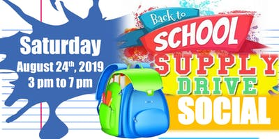 Back to School: Supply Drive Social