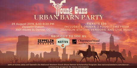 Young Guns Urban Barn Party  tickets