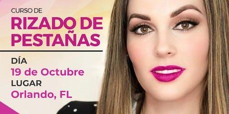 Curso de Rizado de Pestañas - Orlando, FL entradas