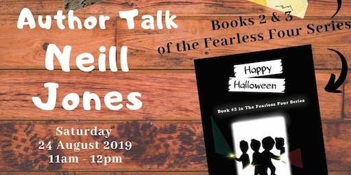 Junior Fiction Author Talk - Neill Jones