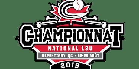 2019 13U National Championship tickets