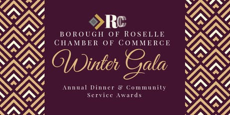 2019 Roselle NJ Chamber of Commerce Winter Gala & Community Service Awards Dinner tickets