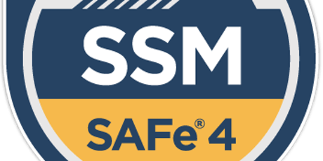 Scaled Agile (SAFe 4.6) Scrum Master - Weekend Training tickets