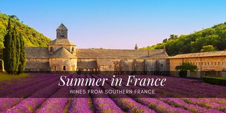 Summer in France Tasting tickets
