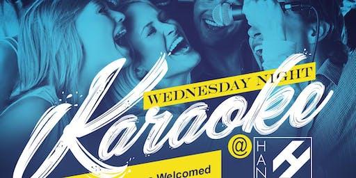 Karaoke Wendesdays @ Hanovers 2.0