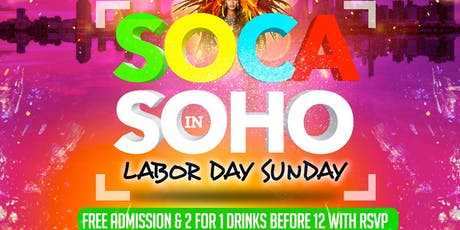 Soca In Soho tickets