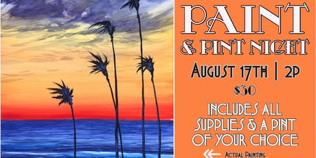 Paint and Pint Night tickets