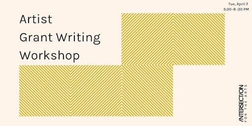 Artist Grant Writing Workshop
