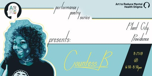 ARMS Poetry Series Presents: Countess B