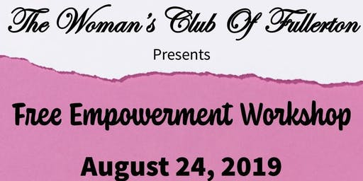 Free Woman's Empowerment Workshop