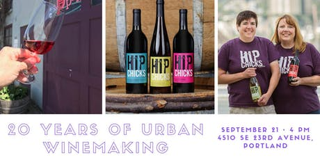 20 Years of Urban Winemaking tickets