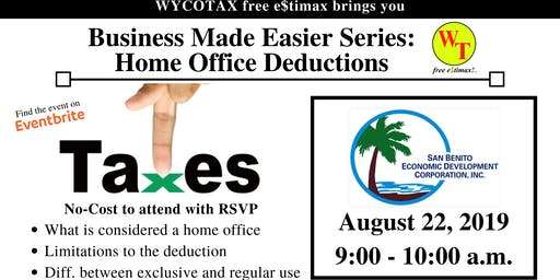 Business Made Easier: Home Office Deductions