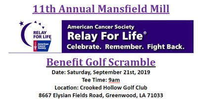11th Annual Relay for Life Golf Tournament
