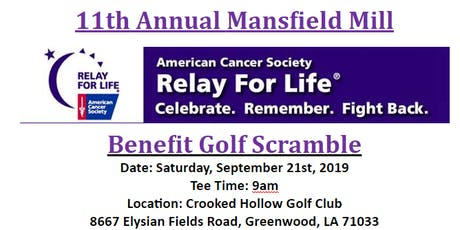 11th Annual Relay for Life Golf Tournament tickets