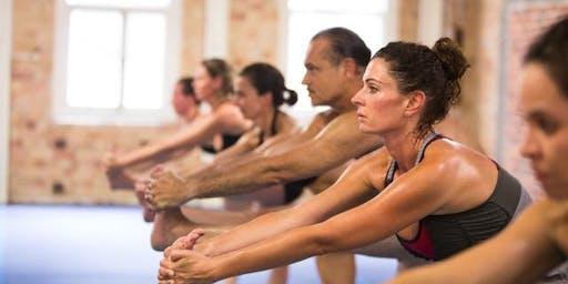 lululemon presents Hot Hatha Yoga Sweat Sunday