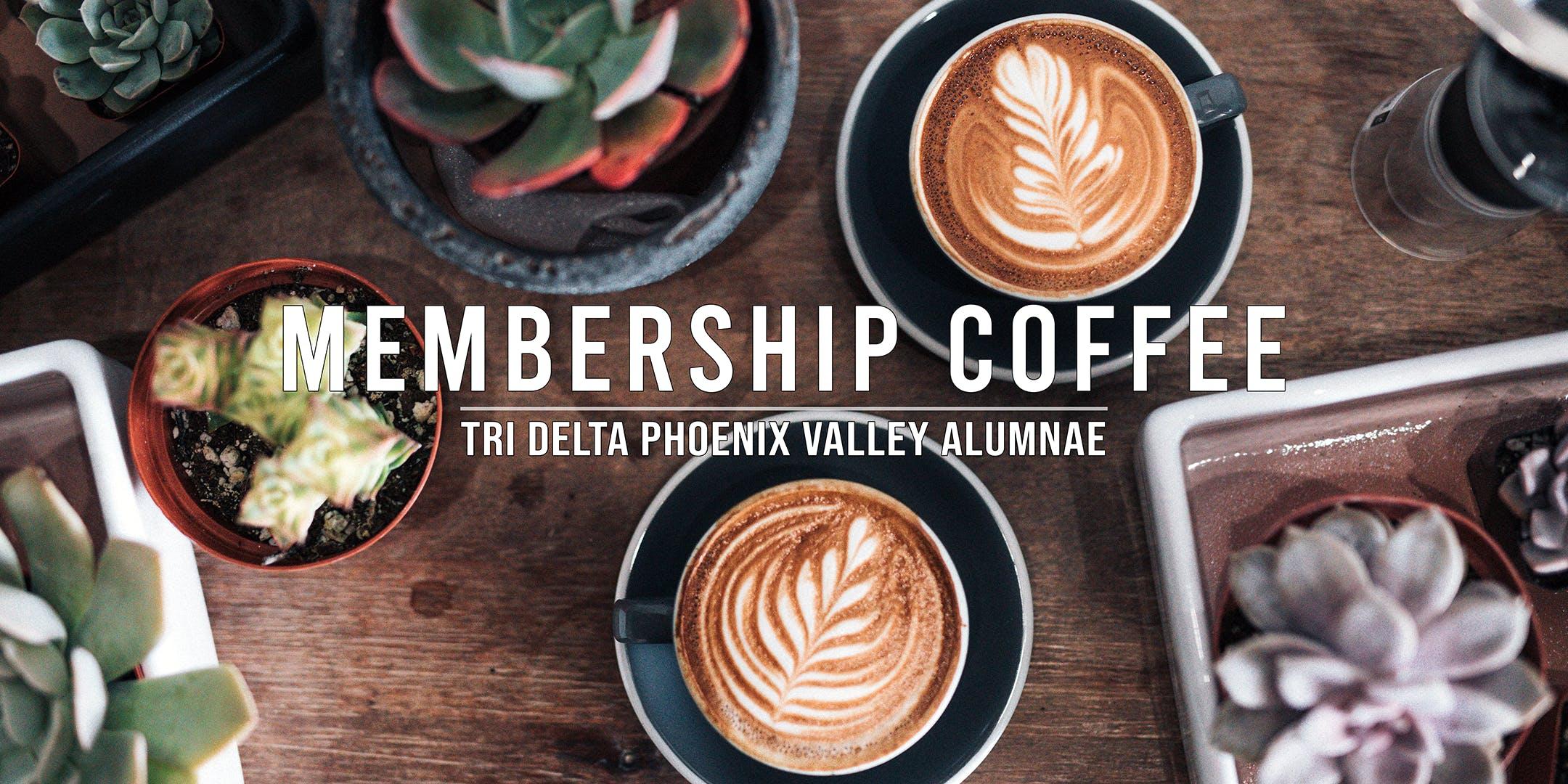 Annual Membership Coffee 2019