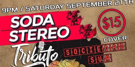 Tributo a Soda Stereo Toronto tickets