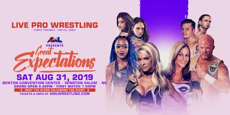 AML Wrestling presents: Great Expectations tickets