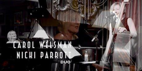 Carol Welsman / Nicki Parrott Duo at Northwest Jazz Festival tickets