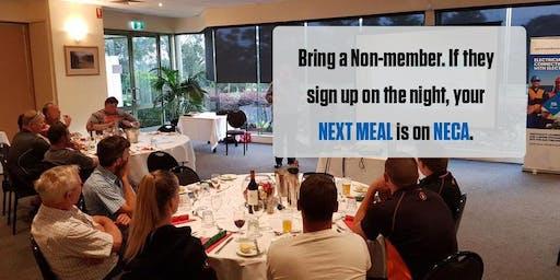 NECA Eastern Region Group Dinner September 2019