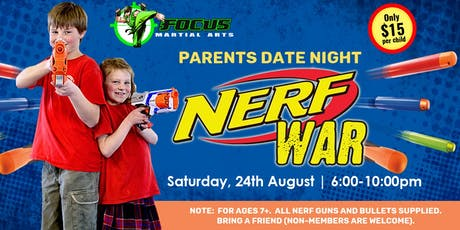 Parents Date Night - Nerf Wars @ Oxenford tickets