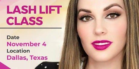 LASH LIFT CLASS - DALLAS, TEXAS tickets