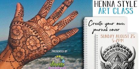 "Henna Style Art ""Paint Night"" at Buffalo RiverWorks tickets"