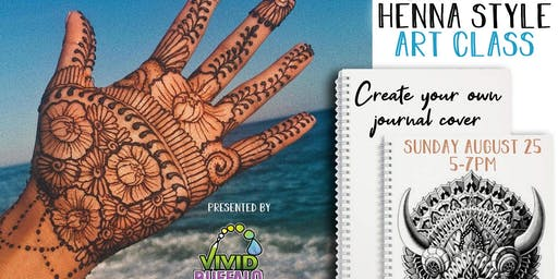 "Henna Style Art ""Paint Night"" at Buffalo RiverWorks"