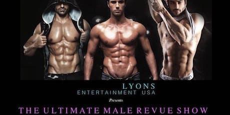 California Hunks Male Revue Show tickets