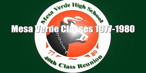 Mesa Verde 40th Reunion Classes 1977-1980