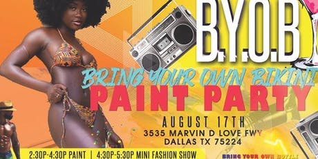 B.Y.O.B. (Bring Your Own Bikini) Paint Party tickets