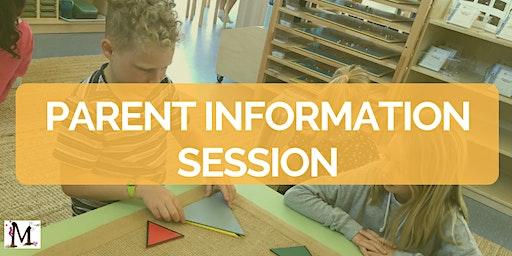 CCM Primary School Tour & Parent Information Session