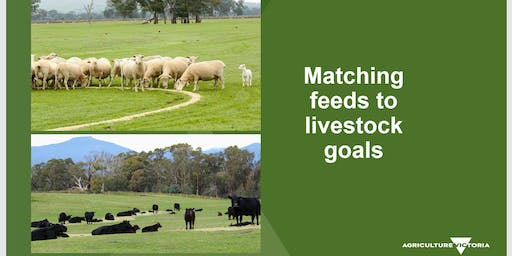 Matching Feed to Livestock Goals - Tooborac