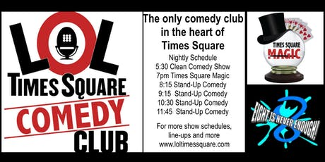 LOL TIMES SQUARE COMEDY CLUB Discount Tickets tickets